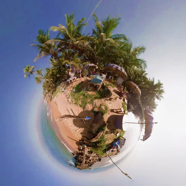 Watch 360 Cinemagraph - Breakfast at the Beach - pandorama360 GIF on Gfycat. Discover more related GIFs on Gfycat