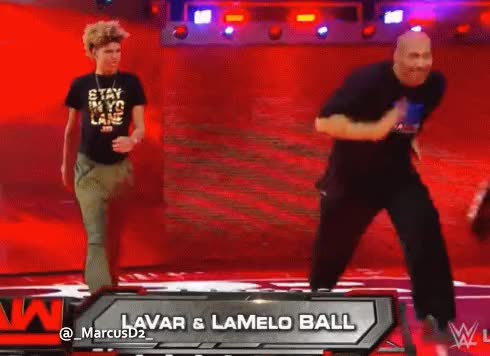 Watch and share Lavar Ball Runs Into The Ring GIFs by MarcusD on Gfycat