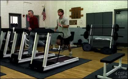 Watch Treadmill-accident-weights GIF on Gfycat. Discover more related GIFs on Gfycat