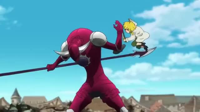 Watch Meliodas Vs Galand The Demon General - The Seven Deadly Sins [ 七つの大罪 戒めの復活 ] GIF on Gfycat. Discover more anime, meliodas GIFs on Gfycat