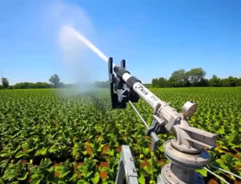 Watch and share Cadman Irrigation Systems With Gun Cart GIFs on Gfycat