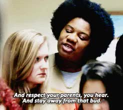 Watch and share Poussey Washington GIFs and Adrienne Moore GIFs on Gfycat
