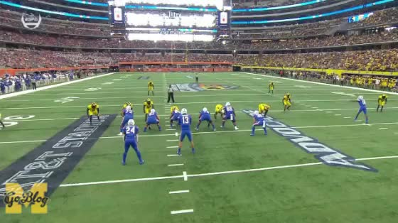 Watch and share Devin Bush GIFs and Football GIFs by MGoBlog on Gfycat
