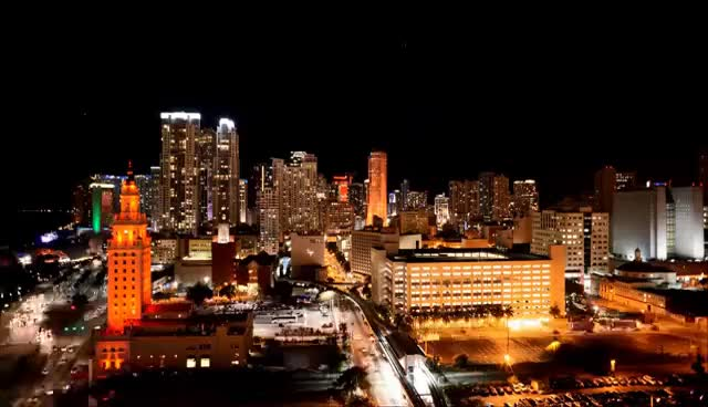 Watch and share HD Downtown Miami Time Lapse GIFs on Gfycat