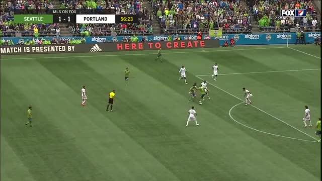 Watch and share Armenteros Goal Portland V Seattle 30jun2018 GIFs by C.I. DeMann on Gfycat