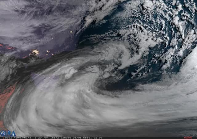 Watch Low over Southeastern Australia GIF by @dziban303 on Gfycat. Discover more spacebased, weather GIFs on Gfycat