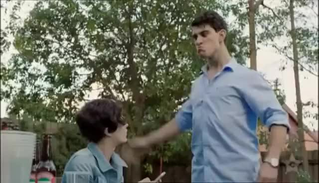 Watch The Slap GIF on Gfycat. Discover more 2015, Intro, children, face, getting, introduction, kids, man, opening, part, slap, slapping, slaps, trailer GIFs on Gfycat