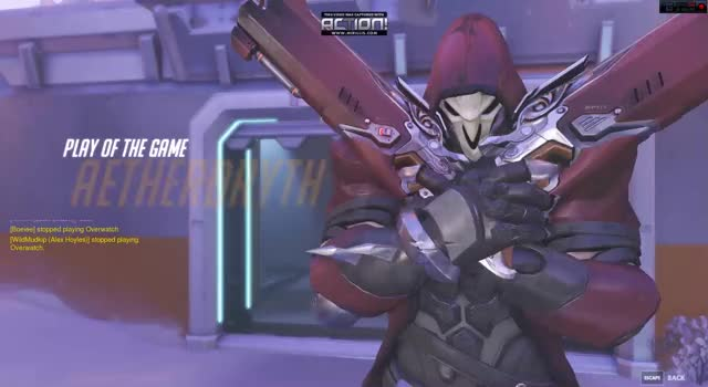 Watch and share Overwatch GIFs and Reaper GIFs by aetherdryth on Gfycat