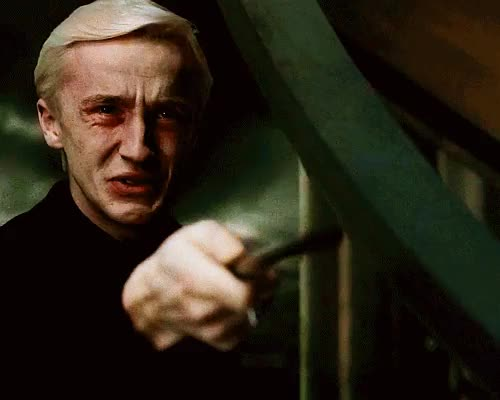 Watch and share Draco Malfoy GIFs and Ravenclaw GIFs on Gfycat
