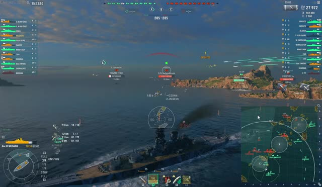 Watch and share World Of Warships 7 9 2018 3 33 12 PM GIFs on Gfycat