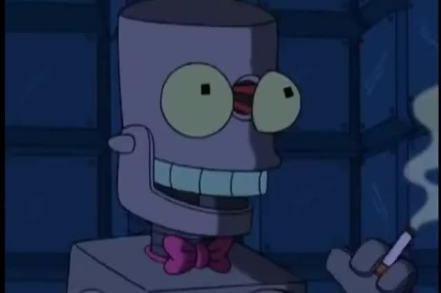 Watch Futurama - The exploding robot scenes GIF on Gfycat. Discover more Brett Wilson, Comedy, Futurama, The, exploding, robot, scenes GIFs on Gfycat