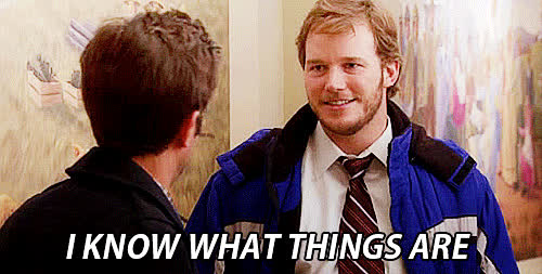 chris pratt, parks and rec, parks and recreation, television, Find your fave Tri in Bham - GIFs
