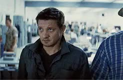 Watch and share William Brandt GIFs and Jeremy Renner GIFs on Gfycat
