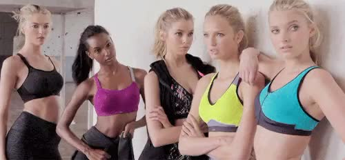 Watch and share Jasmine Tookes GIFs and Romee Strijd GIFs on Gfycat