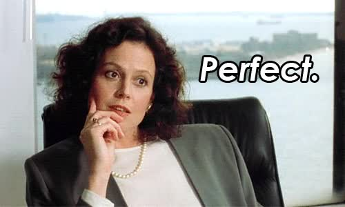 Watch this perfect GIF by Reaction GIFs (@sypher0115) on Gfycat. Discover more Sigourney Weaver, perfect GIFs on Gfycat
