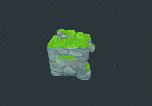Watch and share Triplanar Shader By @MinionsArt GIFs on Gfycat