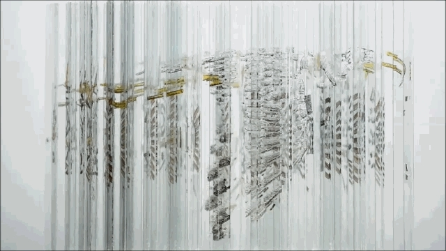 gifs, unexpected, woahdude, Rotating glass sculpture (reddit) GIFs