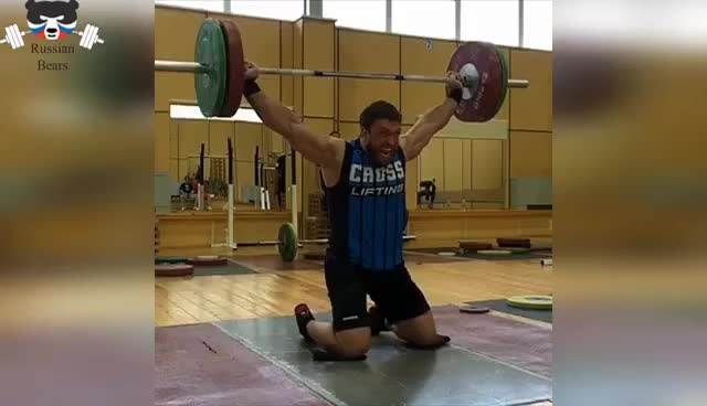 Watch Training of the Russian athlete - Dmitry Klokov 2017 GIF on Gfycat. Discover more related GIFs on Gfycat