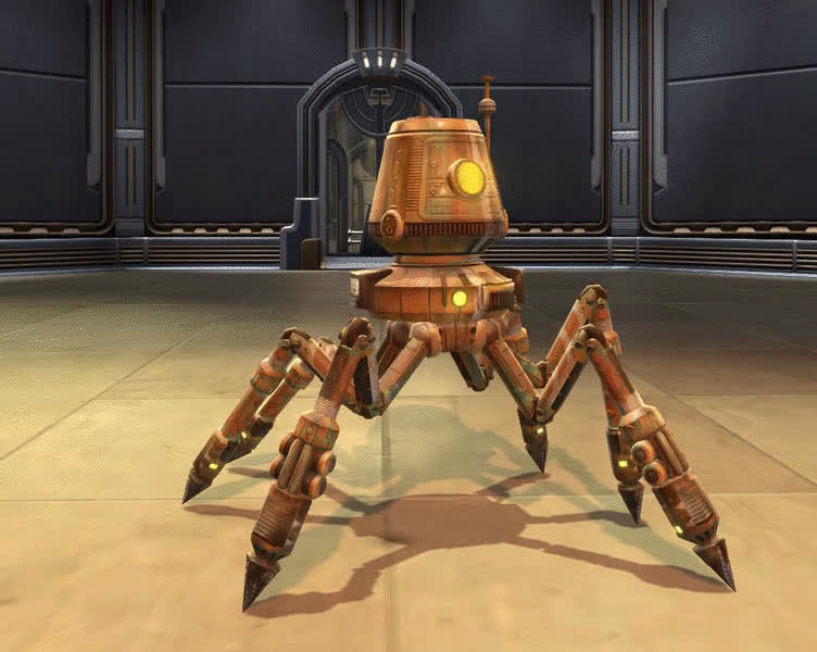 SWTOR Salvage Droid - TOR Decorating GIFs