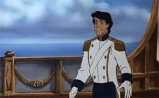Watch and share The Little Mermaid Gifs Gif Bow Bowing Prince Eric Photo:   GIFs on Gfycat