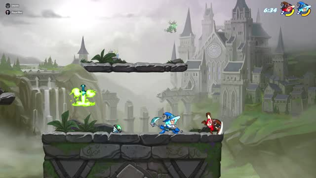 Watch and share Brawlhalla GIFs and Scythe GIFs by Player1red on Gfycat
