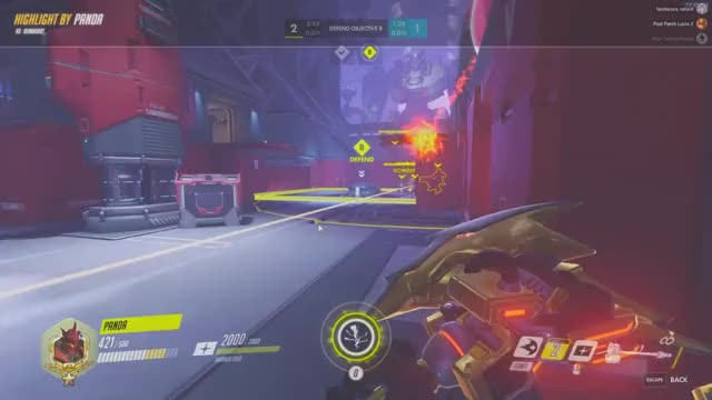 Watch dk shatter GIF on Gfycat. Discover more highlight, overwatch GIFs on Gfycat