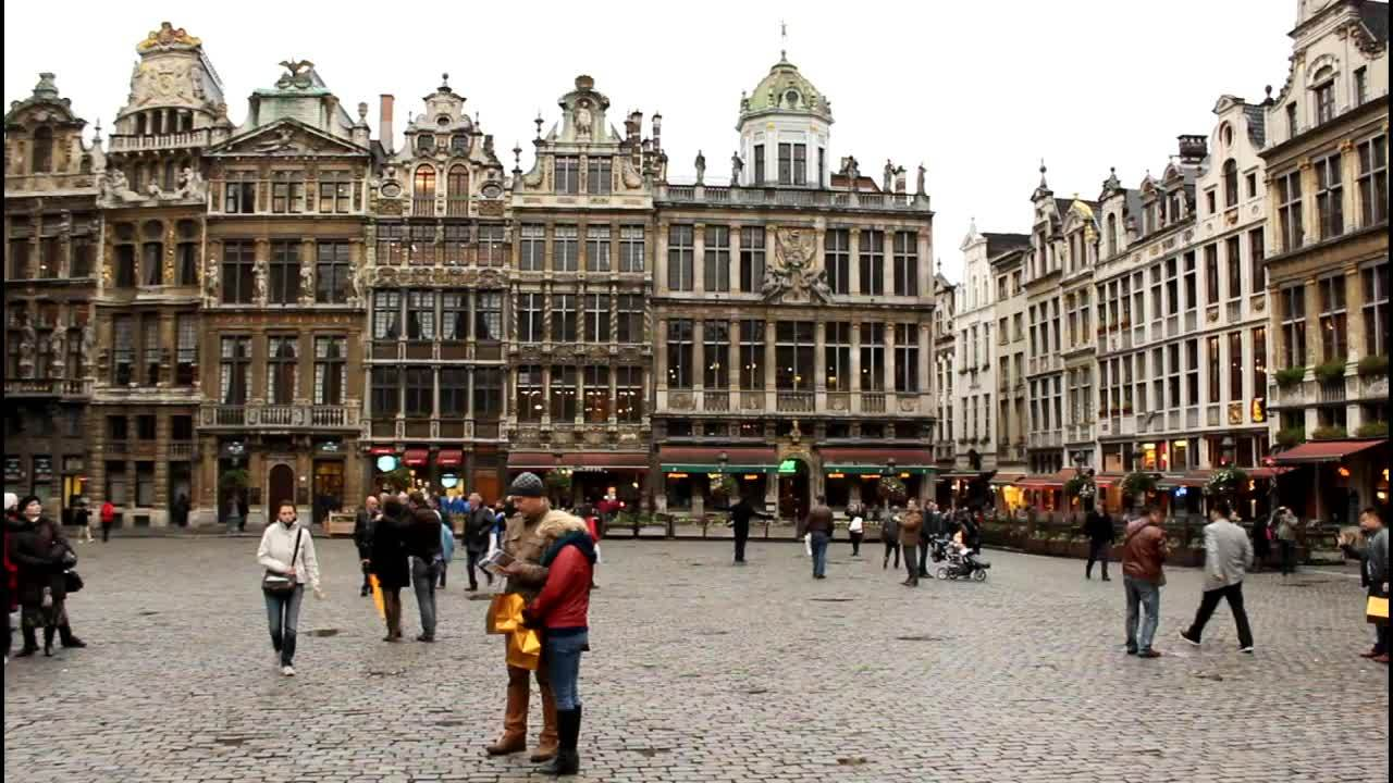 Belgium, Brussels, Grand-Place, Brussels Streets and Attractions, Belgium GIFs