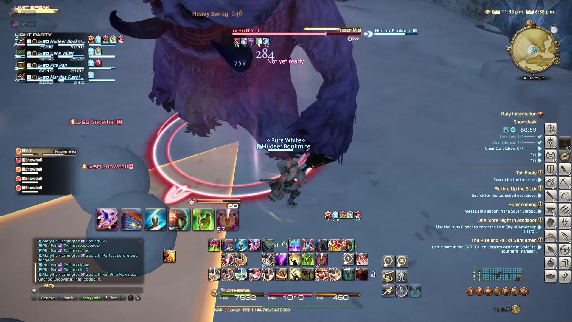ffxiv, final fantasy 14, Strike! GIFs