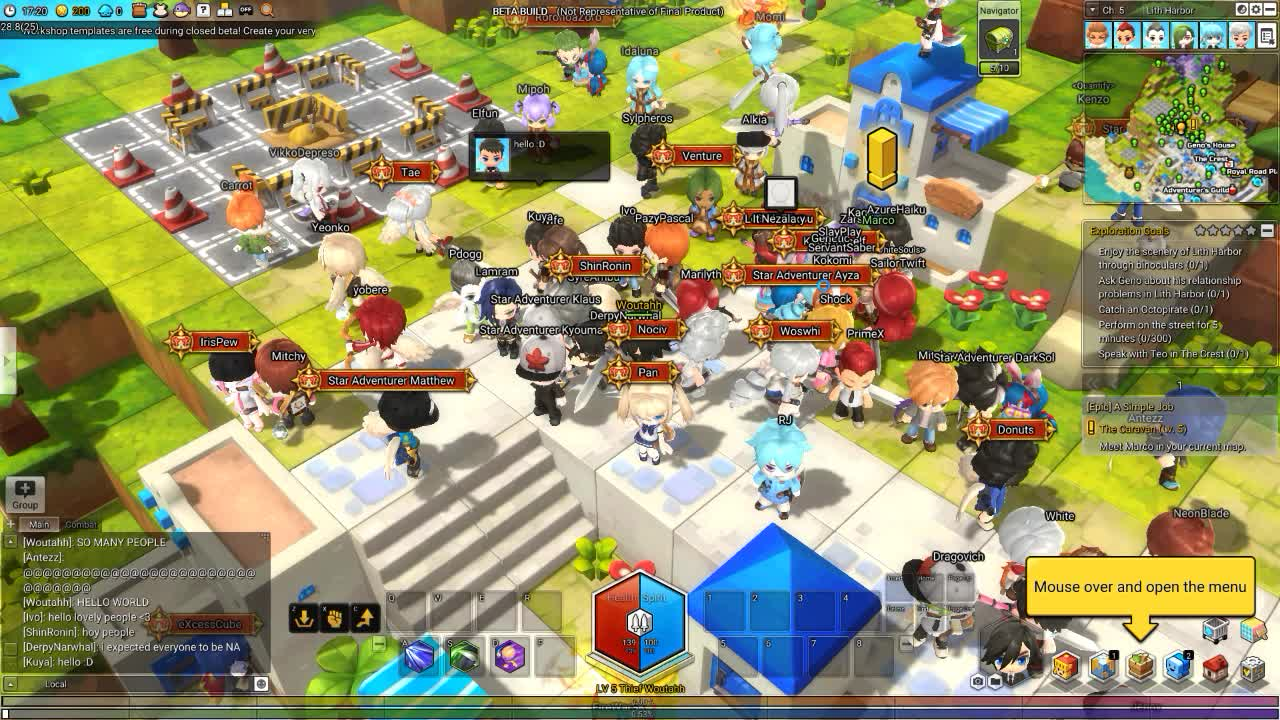 maplestory 2 cbt 1st launch. GIFs