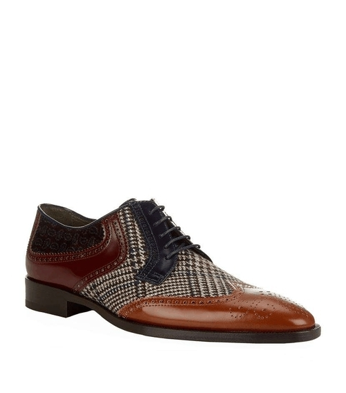 4db9c8e8eb Leather And Fabric Oxford Shoe Youll Love These Shoes Promi
