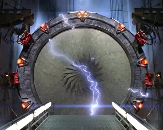 Stargate getting zapped looped GIFs