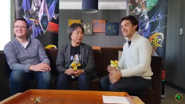 Watch and share Shigeru Miyamoto GIFs and Matt Pat GIFs on Gfycat