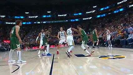 Watch and share Bojan Bogdanović — Utah Jazz GIFs by Off-Hand on Gfycat
