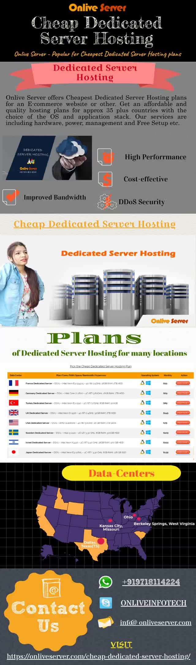 Cheap Dedicated Server Hosting Plans by Onlive Server GIF by