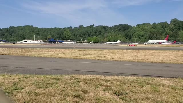 Watch and share Seattle Blue Angles Taxiing GIFs by nothingtoseattlehere on Gfycat