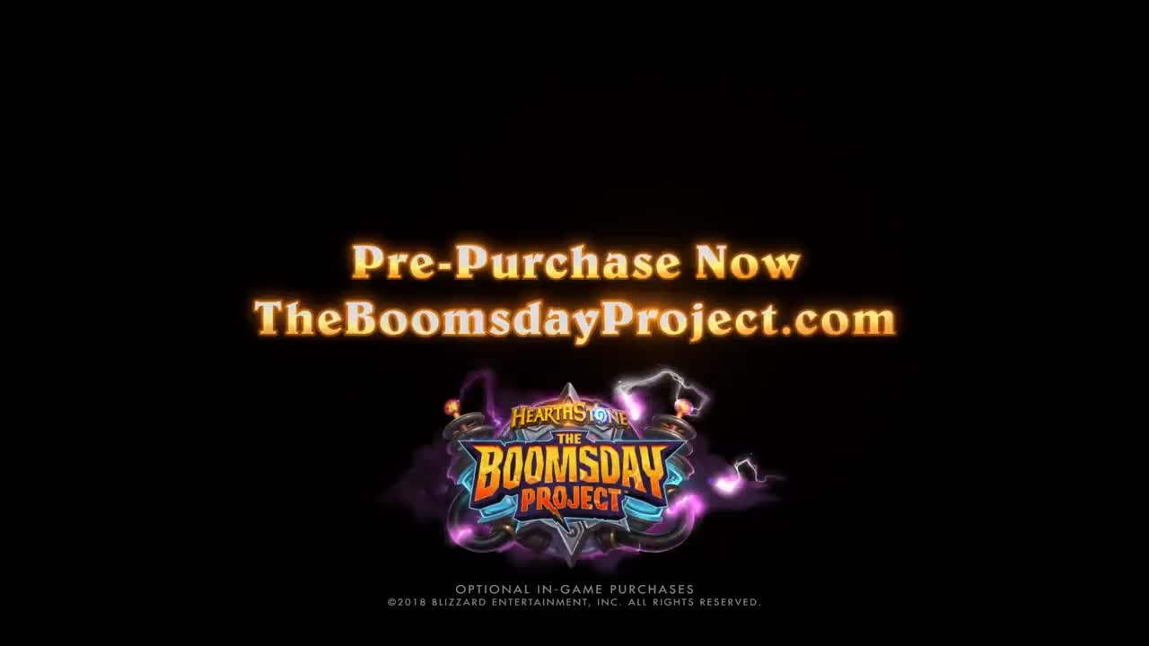 Blizzard, Heartstone, Warlock, boom, boomsday, bundle, dave, decks, expansion, haerthstone, hartstone, hearthstone, hertstone, jaraxxus, magnetic, pre-purchase, Hearthstone: Announcing The Boomsday Project GIFs
