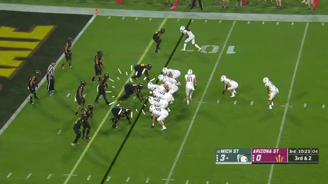 Watch Renell Wren (Arizona St. DT) vs. Michigan St. (2018) GIF on Gfycat. Discover more Caddy to the Lama, Film & Animation, Wondershare Filmora, football GIFs on Gfycat