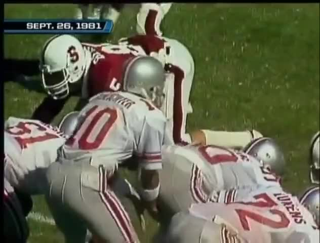Watch and share 1981 #8 Ohio State @ Stanford No Huddle GIFs by patrickmayhorn on Gfycat