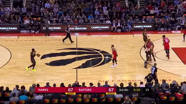 Watch and share Toronto Raptors GIFs and Atlanta Hawks GIFs by Mike Snyder on Gfycat