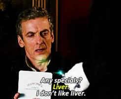 Watch and share Peter Capaldi GIFs and Doctor Who GIFs on Gfycat