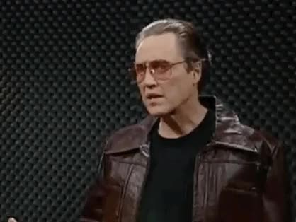 Watch and share Cowbell Christopher Walken GIFs on Gfycat