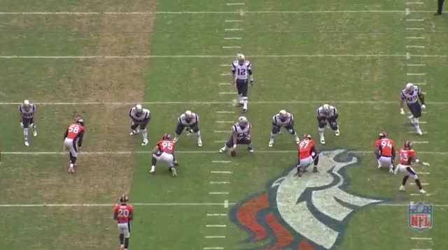 Watch Derek Wolfe hit interception GIF by @cdasilva18 on Gfycat. Discover more madden GIFs on Gfycat