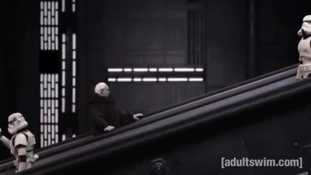 adultswim, funny, stoopid monkey, Hold the Elevator | Robot Chicken | Adult Swim GIFs