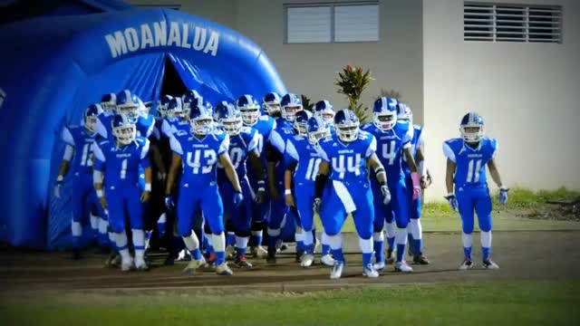 Watch Moanalua High School Football GIF on Gfycat. Discover more All Tags, Blue, Entrance, Football, GAMEDAY, Game, Hawaii, School, Varsity, high, hype, hyped, moanalua, oahu, oia, pink, senior, sport, team, tunnel GIFs on Gfycat