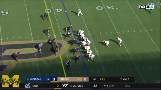 Watch and share Ben Bredeson GIFs and Karan Higdon GIFs by MGoBlog on Gfycat