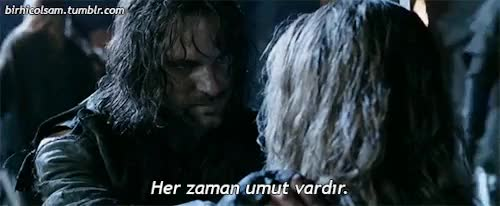 Watch Aragorn GIF on Gfycat. Discover more Viggo Mortensen, aragorn, birhicolsam, filmdizi, hope, the lord of the rings, the two towers, umut GIFs on Gfycat