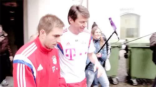 Watch Mesut Ozil GIF on Gfycat. Discover more Philipp Lahm, bayern munich, fc bayern munich, fc bayern münchen, get well soon, love u, my gifs GIFs on Gfycat