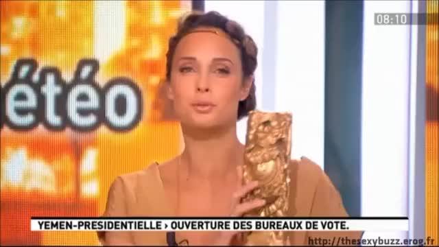 Julia Vignali plot on French morning show