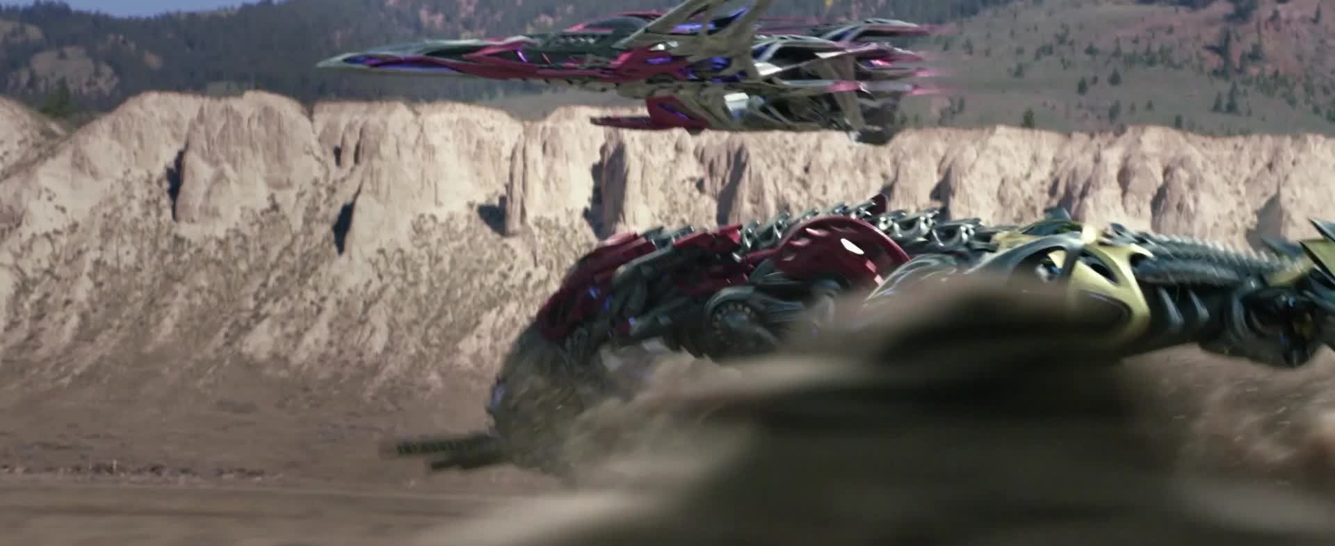 charing-zords-power-ranger-movie, lionsgate, movies, power rangers, powerrangers, Charging Zords Power Rangers Movie GIFs