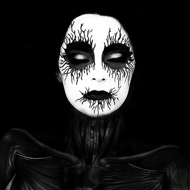 Watch and share Black Metal, Black Eyes And Corpse Paint GIF On We Heart It GIFs on Gfycat